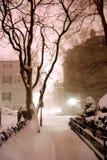 Leuchtfeuer-Hügel, Boston Stockbild