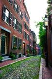Leuchtfeuer-Hügel, Boston Lizenzfreie Stockbilder