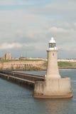 Leuchtfeuer in Newcastle Lizenzfreie Stockfotos