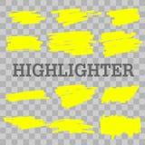 leuchtmarker lizenzfreie abbildung