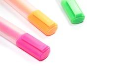 Leuchtmarkermarkierung oder highligh Stift Lizenzfreies Stockfoto