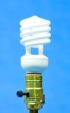 Leuchtstoff Glühlampe stockfotografie