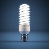 Leuchtstofflampe Stockfoto