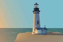 Leuchtturm lizenzfreie abbildung