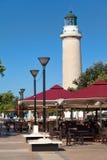 Leuchtturm in Alexandroupolis - Griechenland stockbild
