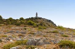 Leuchtturm auf adriatischer Insel von Lastovo, Kroatien Stockfoto