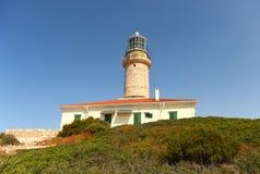 Leuchtturm auf adriatischer Insel von Lastovo, Kroatien Lizenzfreie Stockbilder