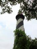 Leuchtturm auf Atlantikküste in St Augustine lizenzfreie stockbilder
