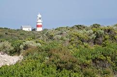 Leuchtturm auf australischer Küstenlinie Stockfotos