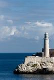 Leuchtturm auf dem Felsen Lizenzfreies Stockbild