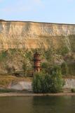 Leuchtturm auf dem Fluss Lizenzfreies Stockbild