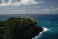 Leuchtturm auf einem Hügel Stockfoto