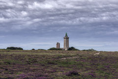 Leuchtturm auf einem Hügel Lizenzfreie Stockfotos