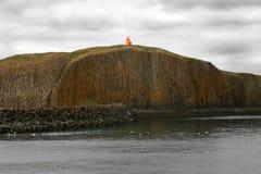 Leuchtturm auf einem Standpunkt Lizenzfreies Stockbild