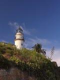 Leuchtturm auf einer Klippe Lizenzfreies Stockfoto
