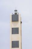 Leuchtturm auf grauem Hintergrund Stockfotos