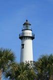 Leuchtturm auf Insel Str.-Simons Lizenzfreie Stockfotos