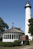 Leuchtturm auf Insel Str.-Simons Lizenzfreie Stockfotografie