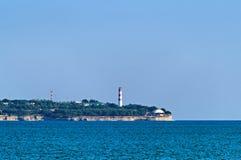 Leuchtturm auf Kap Stockbild