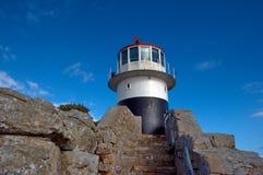 Leuchtturm auf Kap der guten Hoffnung Lizenzfreies Stockfoto