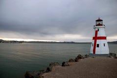 Leuchtturm auf Lake Havasu lizenzfreie stockbilder