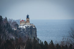 Leuchtturm auf Lake Superior Stockfotos