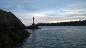 Leuchtturm auf Pender-Insel Lizenzfreie Stockbilder
