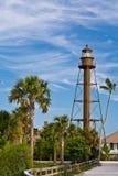 Leuchtturm auf Recht Stockfoto