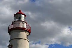 Leuchtturm auf See Erie - Ohio Stockfotografie
