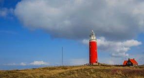 Leuchtturm auf Texel Stockbilder