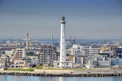 Leuchtturm in Bari Stockfoto