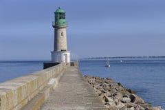 Leuchtturm bei Le Croisic in Frankreich Lizenzfreie Stockfotografie
