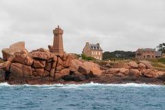 Leuchtturm bei Perros-Guirec Lizenzfreie Stockfotografie