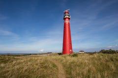 Leuchtturm bei Schiermonnikoog Stockfotos