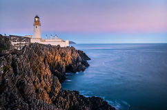 Leuchtturm bei Sonnenuntergang Lizenzfreie Stockfotografie