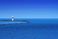 Leuchtturm beim Atlantik Stockfoto