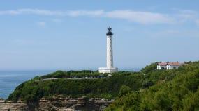 Leuchtturm in Biarritz Lizenzfreie Stockfotografie