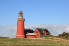 Leuchtturm Bovbjerg Fyr stockfoto