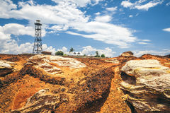 Leuchtturm Broome Australien Lizenzfreie Stockbilder