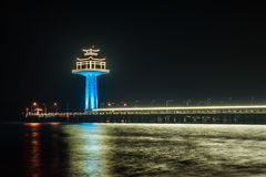 Leuchtturm bunt Lizenzfreie Stockbilder