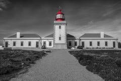 Leuchtturm Cabo Sardão stockbild