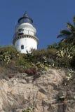 Leuchtturm in Calella Lizenzfreie Stockbilder