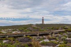 Leuchtturm Cape du Couedic, Flinders-Verfolgungs-Nationalpark, Kangar Stockbilder