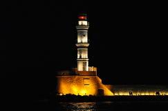 Leuchtturm, Chania Lizenzfreie Stockfotos