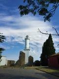 Leuchtturm Colonia Uruguay stockbilder