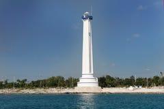 Leuchtturm in Cozumel Lizenzfreie Stockfotografie