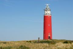 Leuchtturm in den Niederlanden Stockfotografie