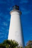 Leuchtturm an den Str.-Markierungen Lizenzfreie Stockfotos