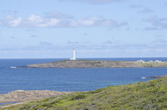 Leuchtturm an der australischen Küste stockbild