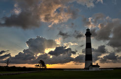 Leuchtturm an der Dämmerung… lizenzfreie stockfotografie